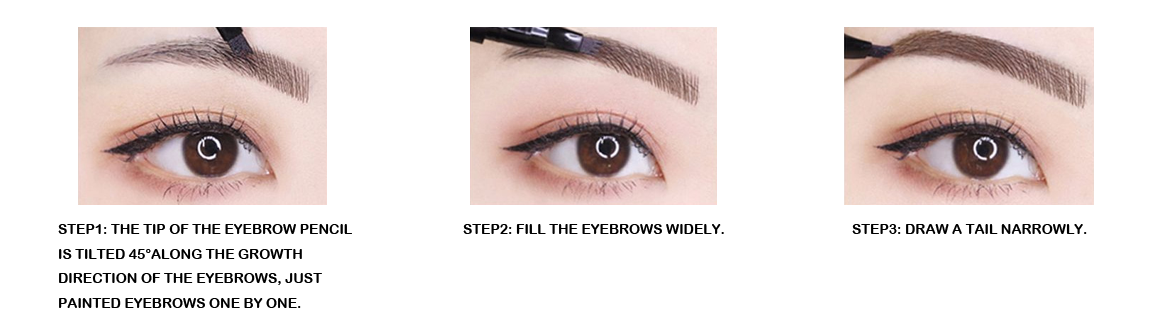 What color is good for eyebrow painting, color selection criteria for eyebrows