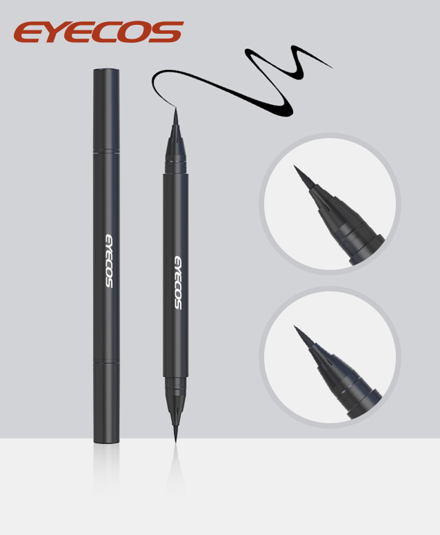 Double-ended Fiber Eyeliner with one fine head and one thick head