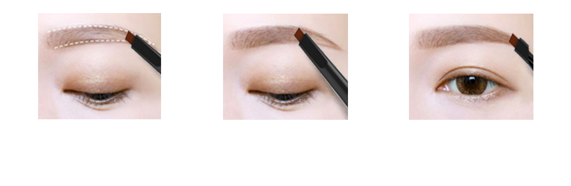 Teach beginners how to draw good eyeliner 1. Eyeliner, liquid usage