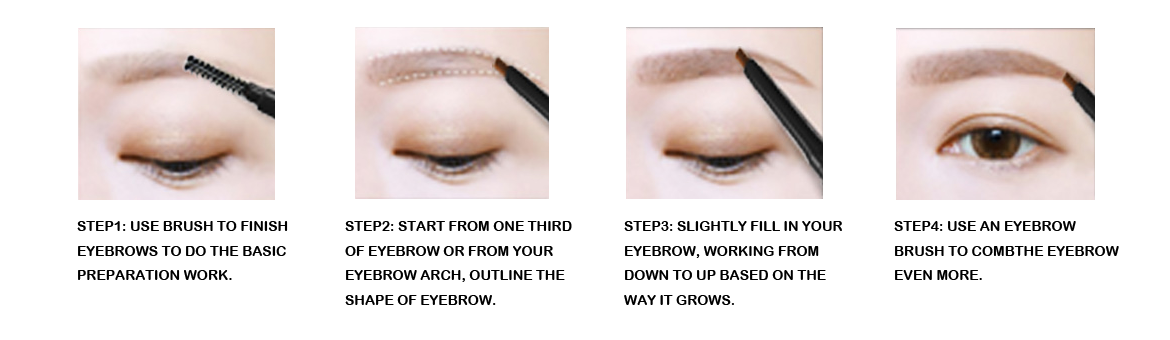 Is eyebrow pencil feasible as an eyeliner? Little common sense about entanglement between eyebrow pencil and eyeliner