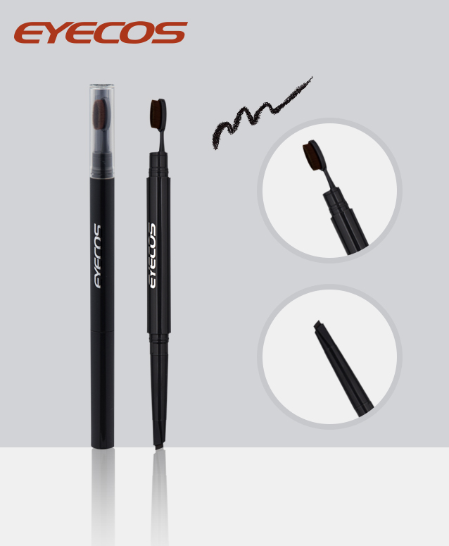 Unique Teeth Brush Head Eyebrow Pencil