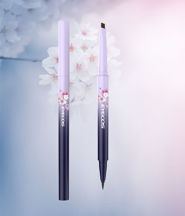 Double-ended Eyebrow & Eyeliner Pencil
